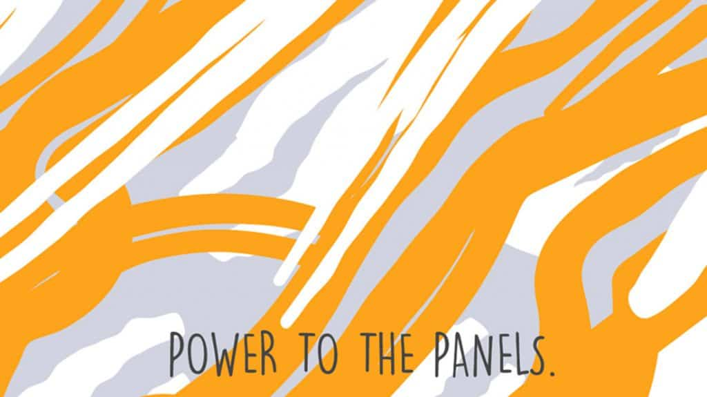 power to the panels